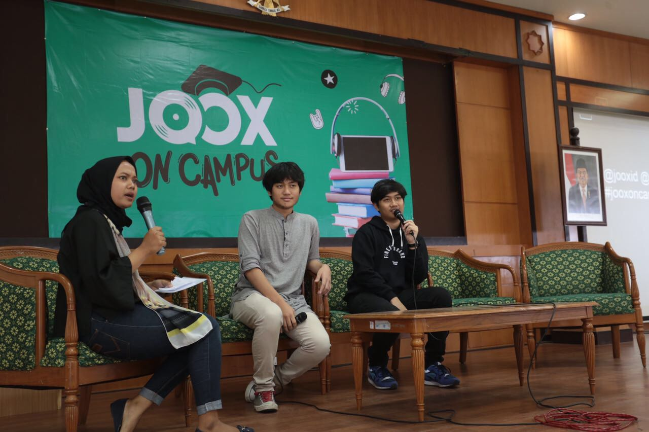 """JOOX CAMPUS to CAMPUS """"Youth and Personal Branding in Digital Era"""""""