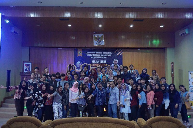 STC Goes to Hubungan Internasional UPN