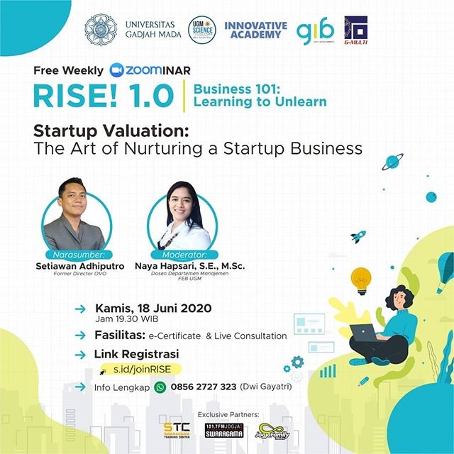 """RISE 1.0 """"Startup Valuation: The Art of Nurturing a Startup Business."""""""