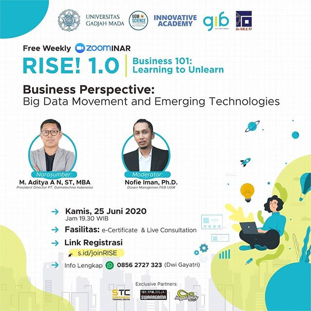 "RISE! 1.0 | Business 101: Learning to Unlearn ⁣: ""Business Perspective: Big Data Movement and Emerging Technologies."""