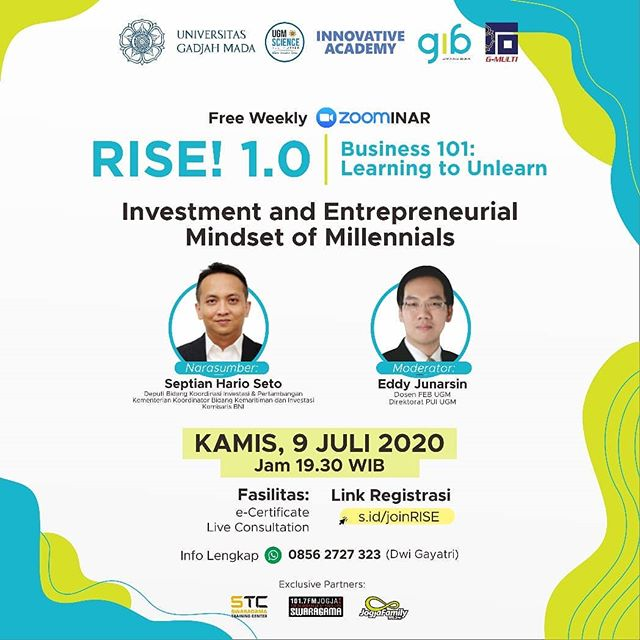 RISE 1.0 : Investment and Entrepreneurial Mindset of Millennials